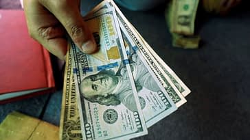 Dollar Up, but Remains Near Week Low Even as Risk Sentiment Slowly Improves