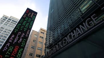 Israel stocks lower at close of trade; TA 35 down 0.30%