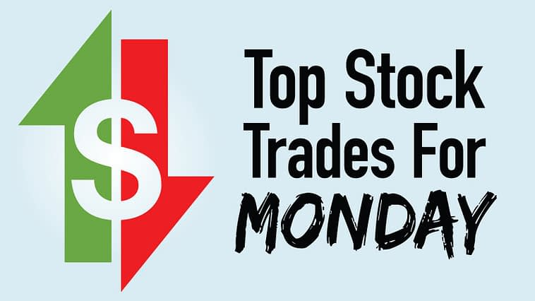 Top stock trades - 4 Top Stock Trades for Monday: AAPL, ABNB, RKT, SOFI