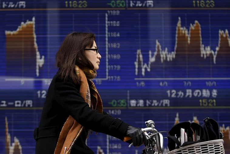 """Asian Stocks Mixed,  Taking """"Breather"""" Over More Disappointing China Data"""