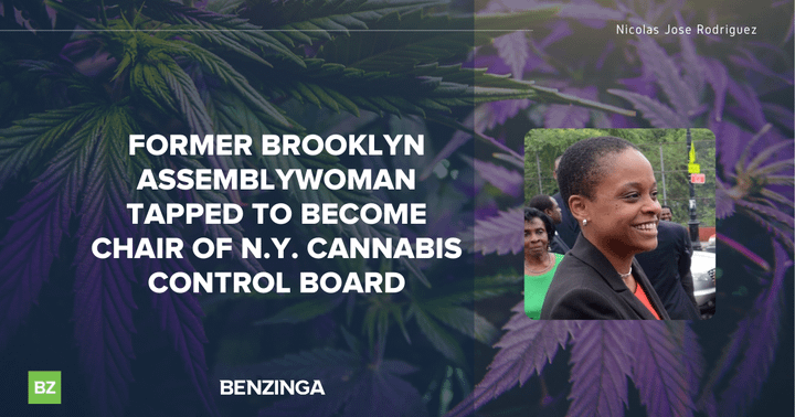 Former Brooklyn Assemblywoman Tapped To Become Chair of N.Y. Cannabis Control Board